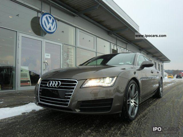 2011 Audi  A7 3.0 TDI quattro AIR / AIR +20 'COMFORT SEATS + BOS Sports car/Coupe Employee's Car photo