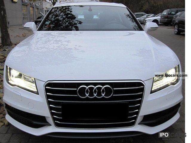 2011 Audi  A7 Sportback 3.0 TDI S line 2 x 20-inch, 5 seats Sports car/Coupe Used vehicle photo