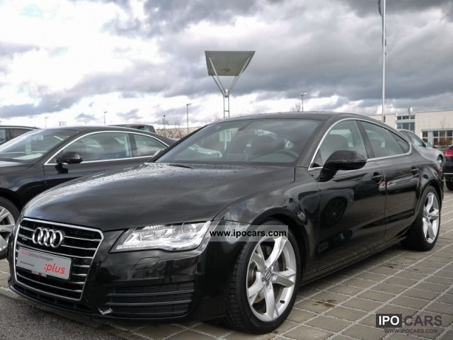 2011 Audi  A7 Sportback 3.0 TDI quattro Airsus. / BOSE / Komfo Limousine Used vehicle photo