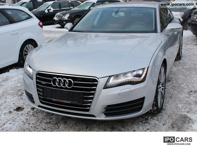 2011 Audi  A7 3.0TDI Q * S-Tronic * LED * Bose * Standh * drive select Limousine Used vehicle photo