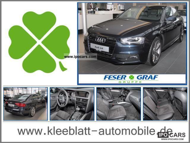 2011 Audi  Ambition A4 2.0 TFSI quattro, alloy 19, Xenon, Nav Limousine New vehicle photo