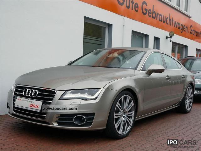 2010 Audi  A7 3.0 TDI Luft/BuO/Head-up/Nachtsicht/LED/NP94 Limousine Used vehicle photo