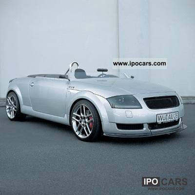 1999 audi tt ascari prototype car photo and specs. Black Bedroom Furniture Sets. Home Design Ideas