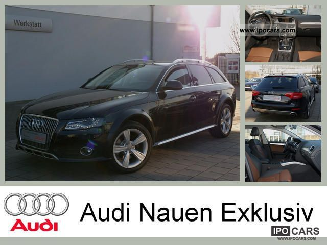 2011 Audi  A4 allroad 3.0 TDI quattro S-tronic (Standheizun Estate Car Used vehicle photo