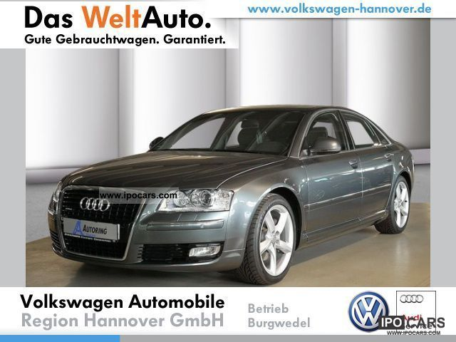 2010 Audi  A8 3.0 TDI DPF Bose, WR, telephone, GSD, xenon Limousine Demonstration Vehicle photo