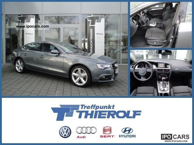 2012 Audi  A5 Sportback 3.0 TDI (DPF) quattro S line S-tron Limousine Employee's Car photo