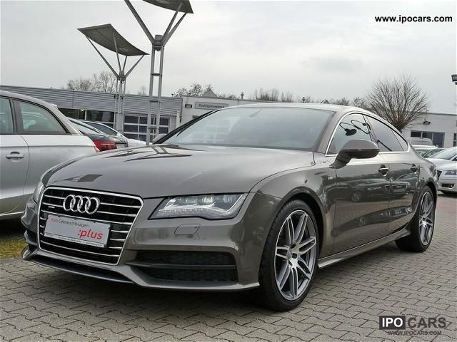 2011 Audi  A7 3.0 TDI S 2x line/BOSE/LED/MMItouch/LM20 Sports car/Coupe Employee's Car photo
