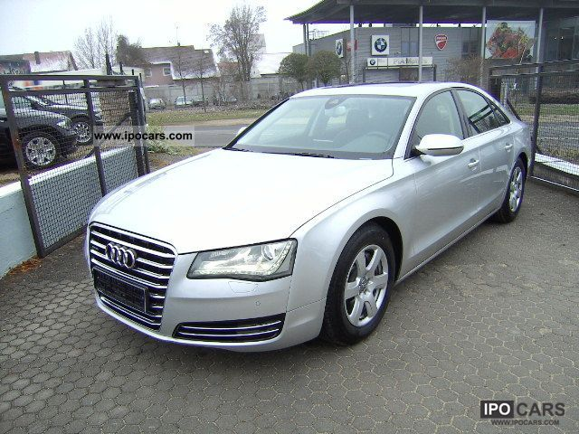 2011 Audi  A8 3.0 TDI qu Tiptr Standh solar aviat Limousine Used vehicle photo