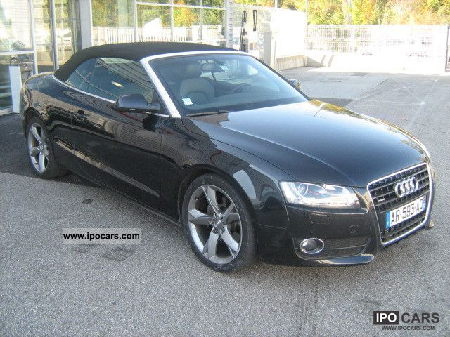 2010 Audi  3.0 V6 TDI 240 DPF Quattro Ambition Luxe Cabrio / roadster Used vehicle photo
