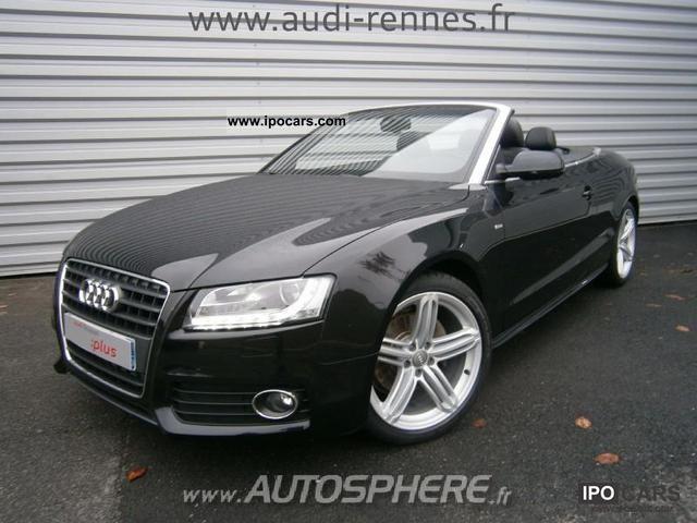 2011 Audi  A5 Cab 7.2 TDI190 DPF S Line plus MTRO Sports car/Coupe Used vehicle photo