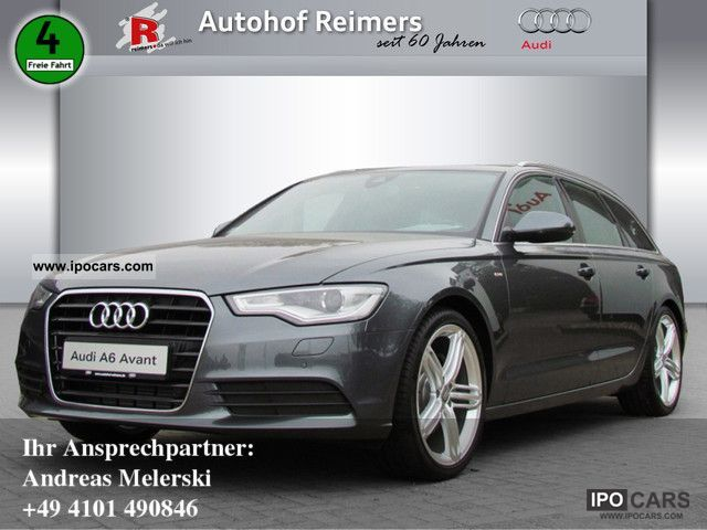 2012 Audi A6 Avant 30 Tdi S Line Multitronic Navigation Car Photo