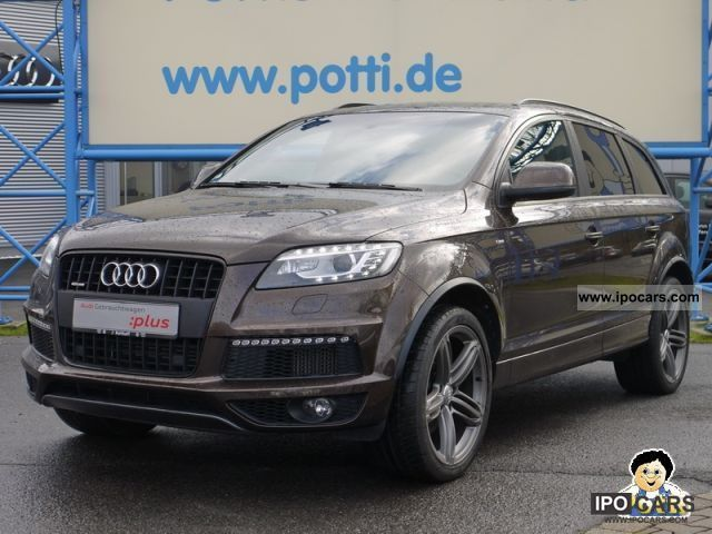 2010 Audi  Q7 S-line Luft/Kamera/21 in / Landscapes (Navi) Off-road Vehicle/Pickup Truck Used vehicle photo