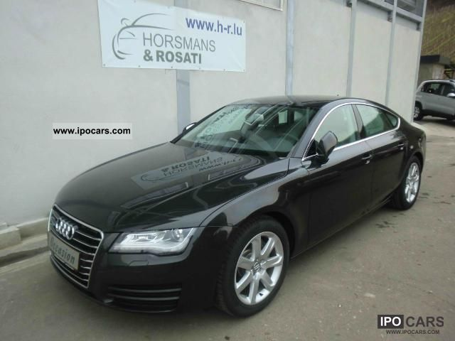 2011 Audi  A7 Saloon 3.0 TDI 245 PS Quattro Navigation Limousine Used vehicle photo