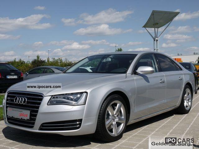 2010 Audi  A8 3.0 TDI LED headlights, comfort seats, 19 \ Limousine Used vehicle photo