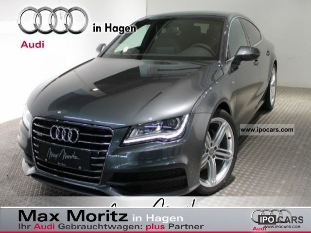 2012 Audi  3.0TDI quattro 2xS-line/Navi A7 + / 20inch Sports car/Coupe Demonstration Vehicle photo