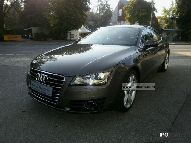 2011 Audi  A7 3.0 TFSI S-Tronic Qu / Luftfed. / Nachtsichtas. Sports car/Coupe Used vehicle photo