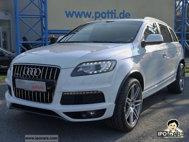 2010 Audi  Q7 S-line clean diesel (Navi Xenon leather) Off-road Vehicle/Pickup Truck Used vehicle photo