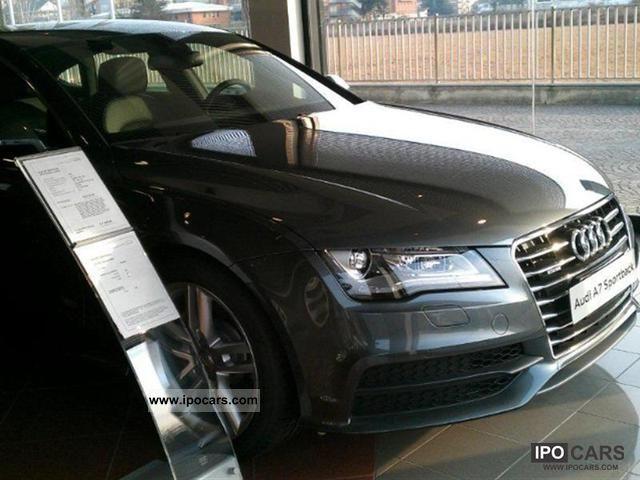 2012 Audi  A7 SPB. 3.0 V6 TDI 245 CV quattro S tr Limousine Used vehicle photo