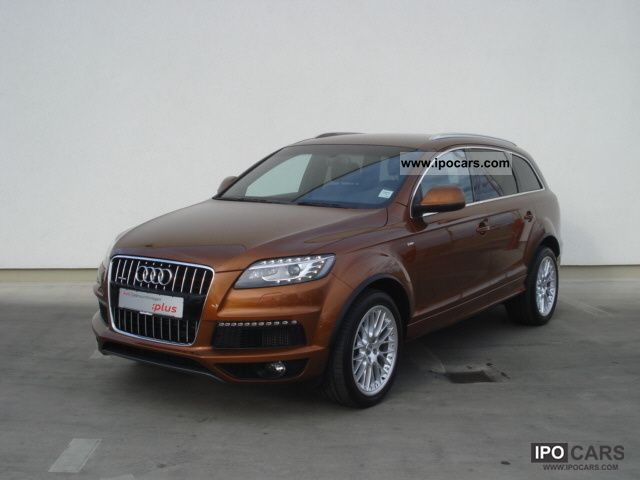 2010 Audi  Q7 S-Line / MMI navigation plus, air, leather, Standhe Other Used vehicle photo