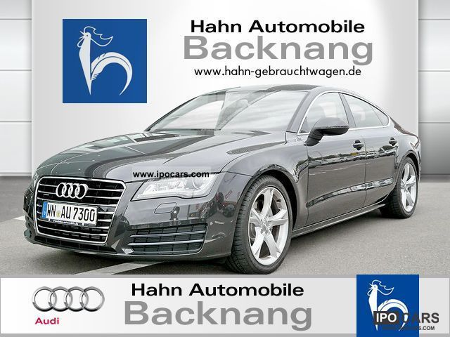 2011 Audi  A7 Navi. plus MMI touch leather parking aid Limousine Demonstration Vehicle photo