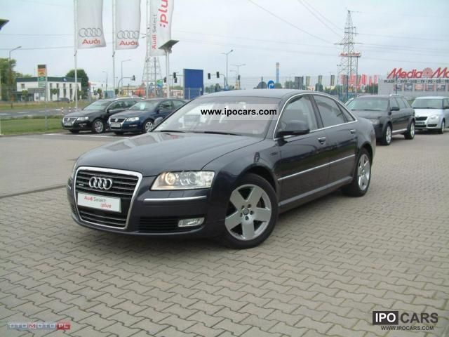 2007 Audi  A8 FV-23%, SALONOWY Limousine Used vehicle 			(business photo