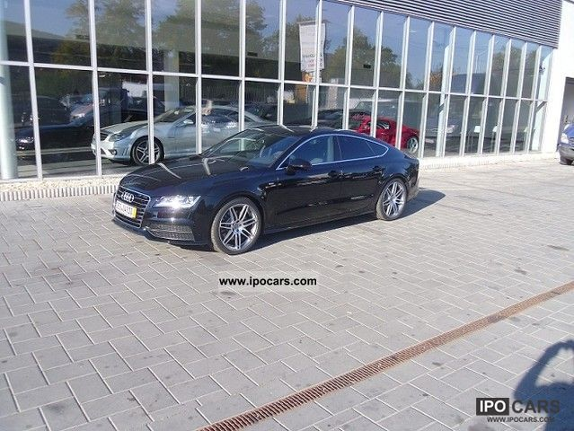 2011 Audi  A7 3.0 TDI quattro S-line S tronic Sports car/Coupe Used vehicle photo