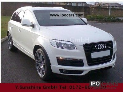 2011 Audi  Q7 3.0 TDI DPF Quatt tiptro.-WHITE-BLUE-QUICK Limousine New vehicle photo