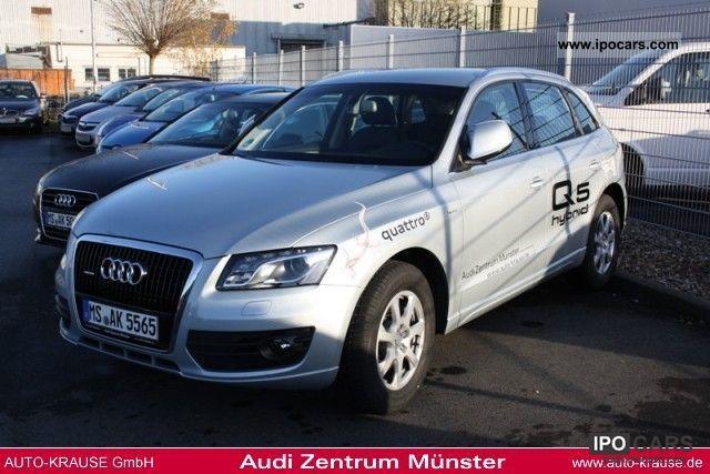 Audi  Q5 2.0 TFSI 155 kW hybrid quattro tiptronic 2011 Hybrid Cars photo