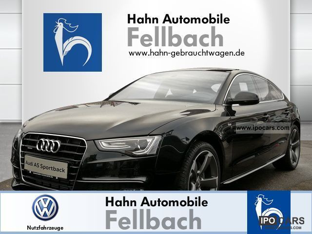 2012 Audi  A5 Sportback 3.0 TDI quattro S 180 245 kWPS Limousine Demonstration Vehicle photo