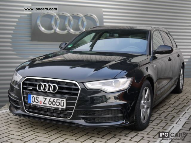 2012 audi a6 avant 3 0 tdi quattro car photo and specs. Black Bedroom Furniture Sets. Home Design Ideas