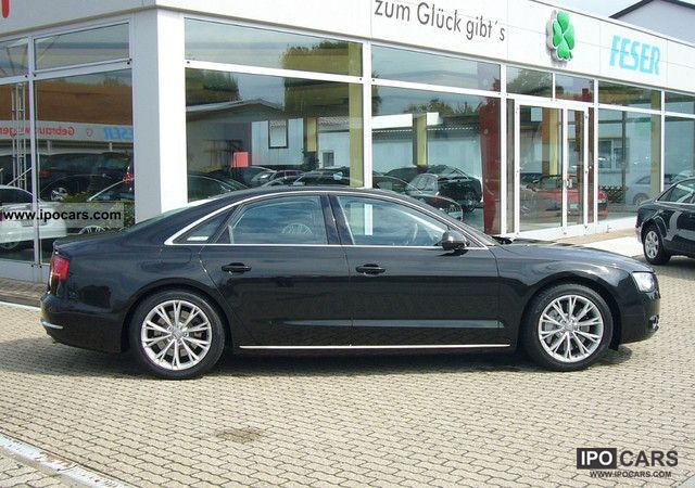2010 Audi  A8 4.2 FSI Full Leather, Night View Assist, SSD, Limousine Used vehicle photo