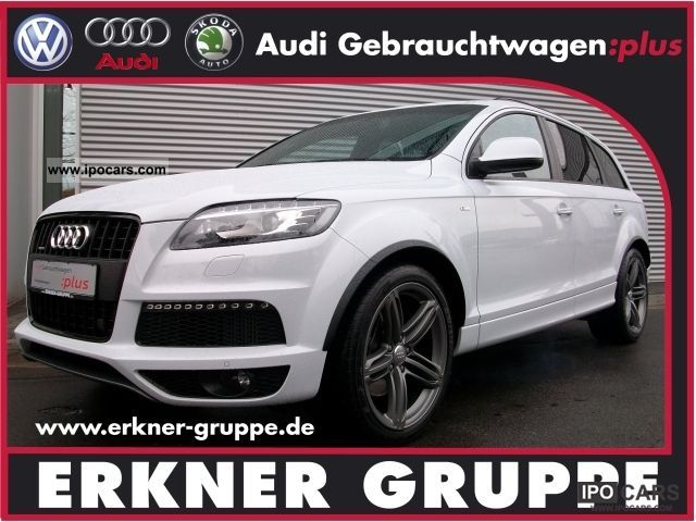 2011 Audi  Q7 3.0 TDI DPF S Line Suggested Retail Price: € 88.000Â Off-road Vehicle/Pickup Truck Employee's Car photo