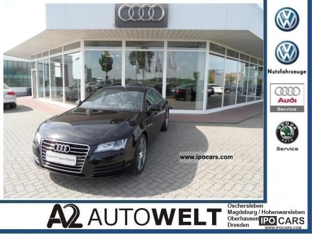 2012 Audi  A7 Sportback 3.0 TDI quattro, 20 ', air, Bose Limousine Demonstration Vehicle photo
