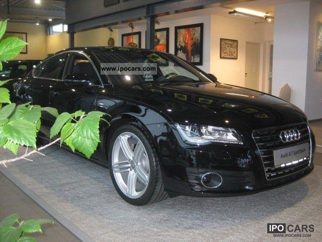 2012 Audi  A7 Sportback 3.0 TDI DPF S-tronic Limousine Employee's Car photo