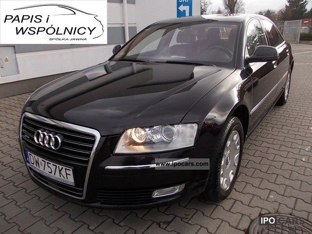 2009 Audi  23% A8, A8 L, pełna OPCJA; SALONPL; 1WŁ Limousine Used vehicle photo