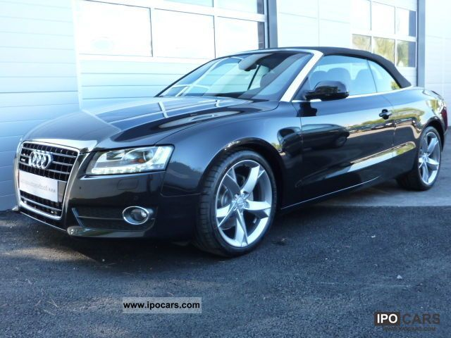 2009 audi a5 cabriolet 3 0 v6 tdi 240 quattro bystronic car photo and specs. Black Bedroom Furniture Sets. Home Design Ideas