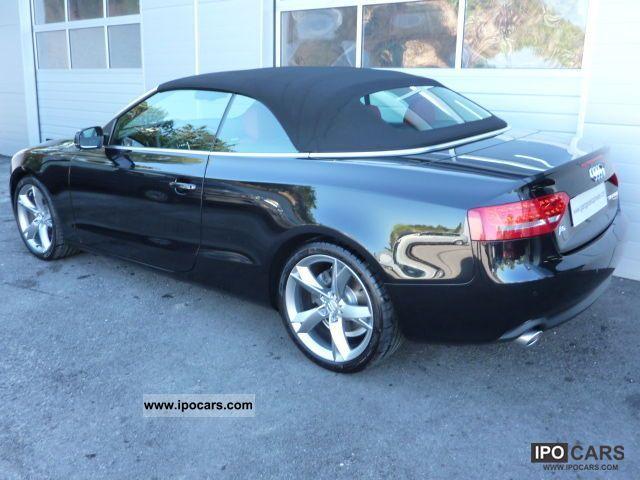 2009 audi a5 cabriolet 3 0 v6 tdi 240 quattro bystronic car photo and specs. Black Bedroom Furniture Sets. Home Design Ideas