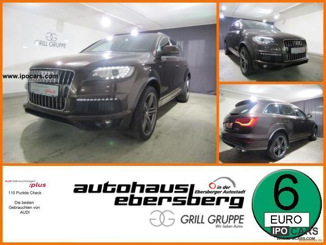 2010 Audi  Q7 S-Line 3.0 TDI clean diesel, qu. Tiptronic 7-S Off-road Vehicle/Pickup Truck Demonstration Vehicle photo