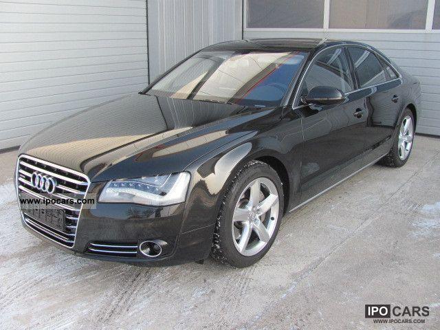 2010 Audi  A8 3.0 TDI * LED NIGHT VISION * TV * MASSAGE * Solar * Limousine Used vehicle photo