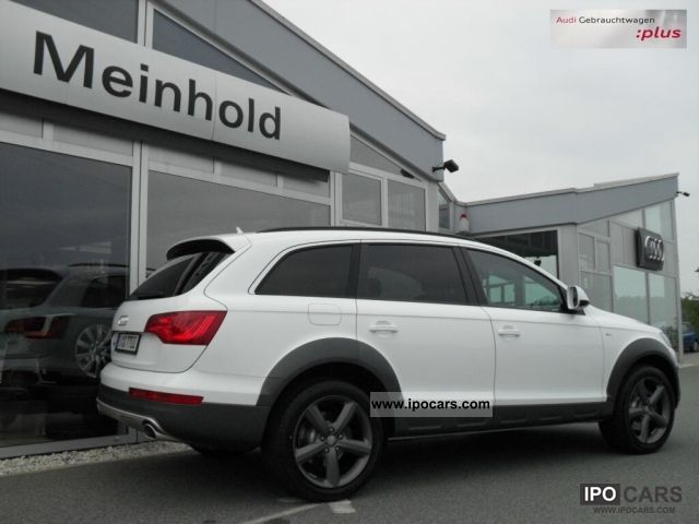 2011 Audi Q7 3.0TDI Tiptr. S line OFFROAD STYLE PACKAGE - Car Photo and Specs