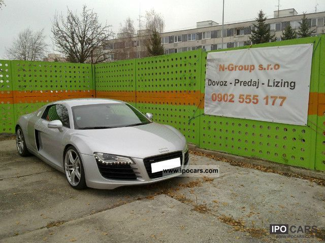 2007 Audi  R8 4.2 FSI quattro R tronic Sports car/Coupe Used vehicle photo