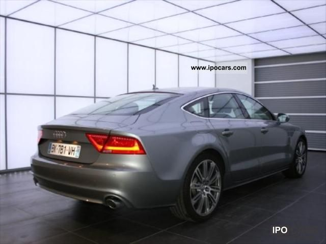 2011 audi a7 3 0 tdi245 ambition luxe s s car photo and specs. Black Bedroom Furniture Sets. Home Design Ideas
