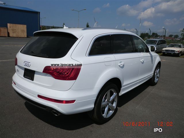 2010 audi q7 3 0 tdi s line prestige 2012 car photo and. Black Bedroom Furniture Sets. Home Design Ideas