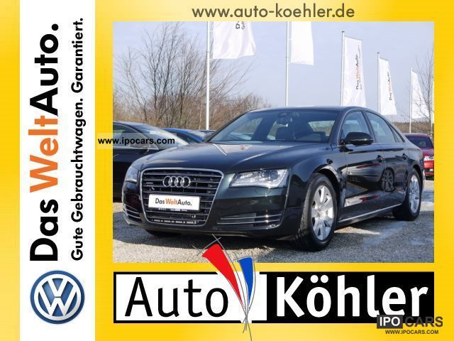 2011 Audi  A8 3.0 TDi elektr.Sitze + heater Limousine Used vehicle photo