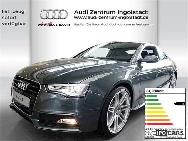 2011 Audi  A5 TDI DPF 3.0 quattro S-Line S-Tronic NAV Sports car/Coupe New vehicle photo