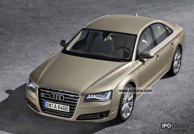 2011 Audi  A8 3.0 TDI Q tip NEU2011 Metallic Leather + Navi + +18 \ Limousine New vehicle photo