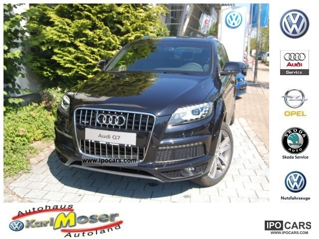 2011 Audi  Q7 3.0 TDI qu Tiptr. - S-Line * Navi * Xenon * Panoram Off-road Vehicle/Pickup Truck New vehicle photo