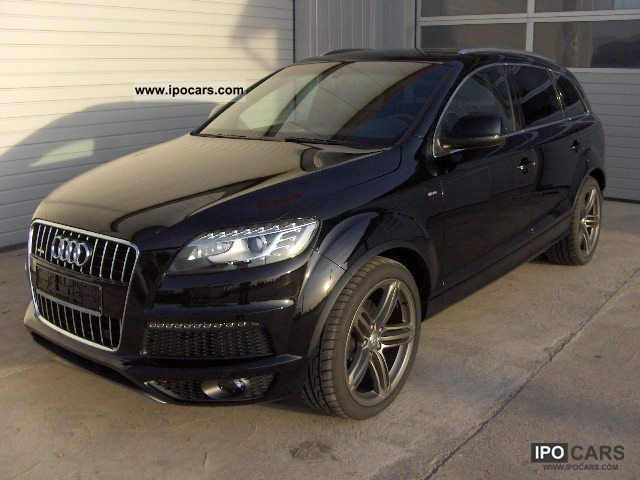 2012 audi q7 3 0 tdi s line 2x air pano 7sitzer. Black Bedroom Furniture Sets. Home Design Ideas