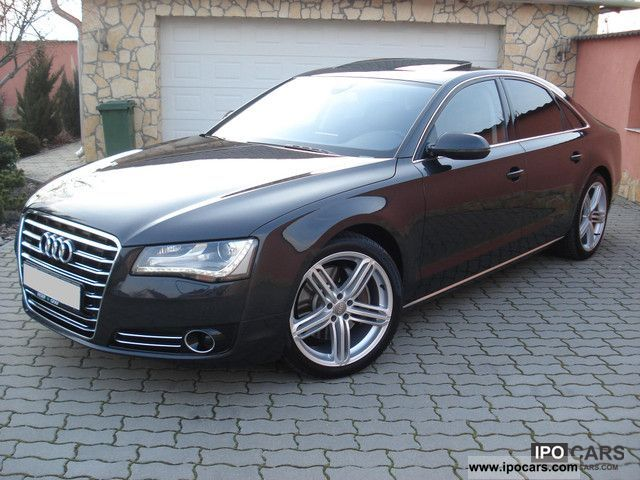 2010 Audi  A8 3.0 TDI * NIGHT * Servo * TV * DISTR * SIDE * BELÜFT + MASS Limousine Used vehicle photo