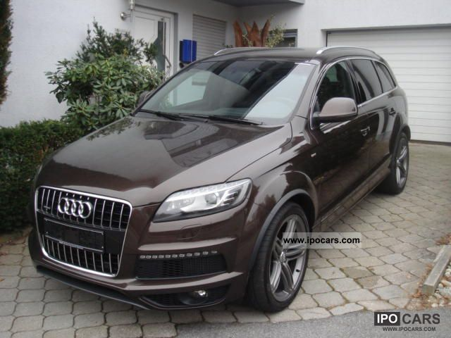 2010 audi q7 4 2 tdi s line 8 stage exclusive car photo and specs. Black Bedroom Furniture Sets. Home Design Ideas